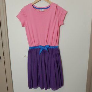 NWT Hanna Andersson Dress Soft Tulle Woosh